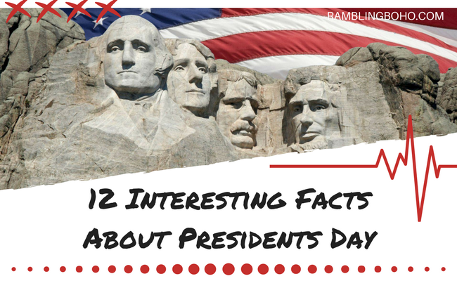 Some believe not all presidents deserved a special recognition. #holidays #interestingfacts #presidentsday RamblingBoho.com