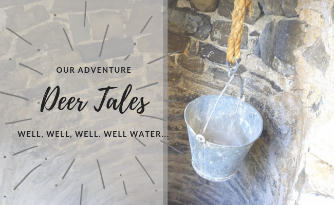 Well, well, well. Well water…