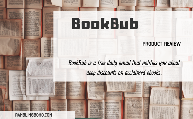 BookBub: Free & Discounted Books!