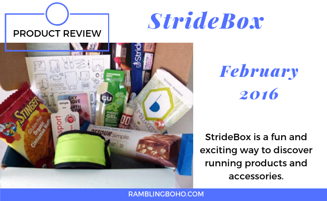 StrideBox February 2016